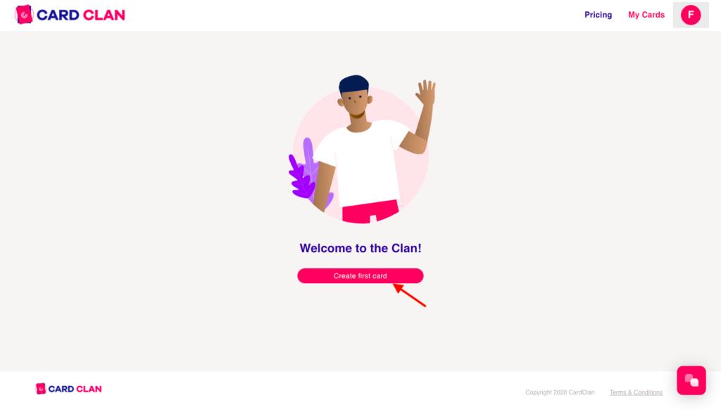 Digital Card Design - Step 1