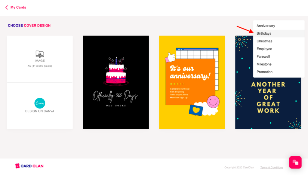 Card Design Step 2